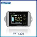 JUNTEK ват1300 100 в 300А беспроводной Амперметр Вольтметр контроль емкости аккумулятора кулонный счетчик 12 в 24 в 48 в цветной экран
