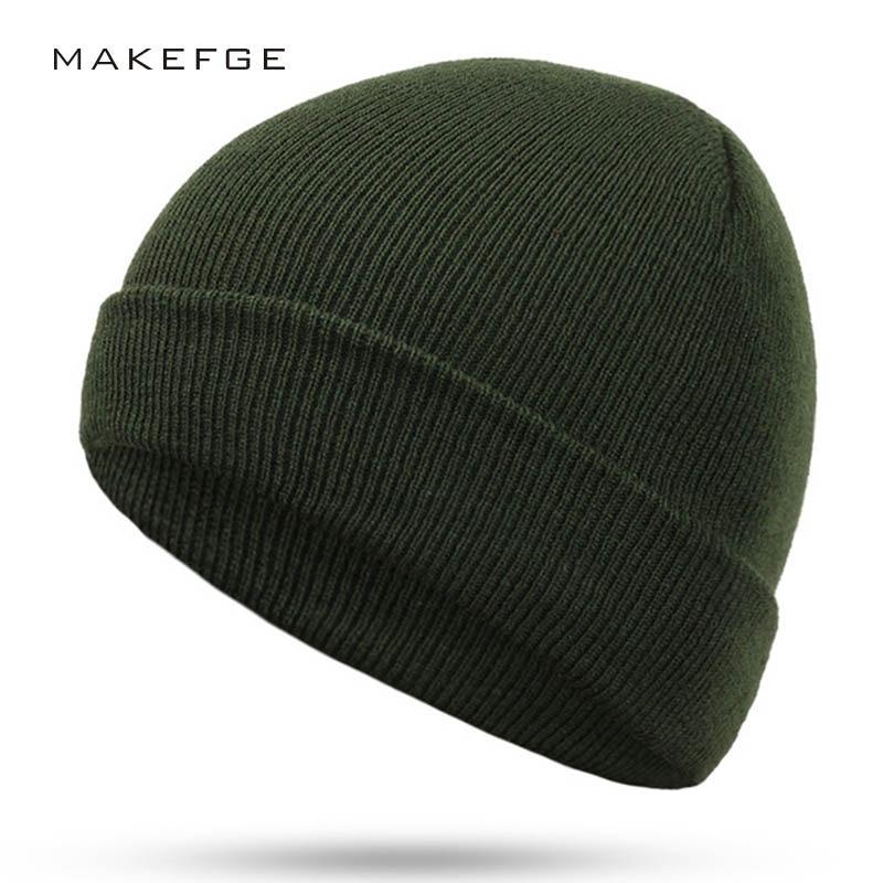 Letter Casual Winter Casual Hip Hop   Beanies   Hat For Men Women Knitted Hats Crochet Ski Cap Warm   Skullies   Gorros