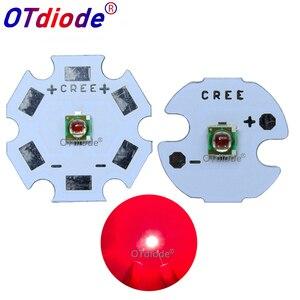 Image 1 - 10 個 1 ワット 3 30w クリーの Xlamp Xpe XP E 写真赤 655nm の 660nm 2.1 2.5V 1000mA ハイパワー Led ビーズ植物 Led エミッタ成長ランプライト