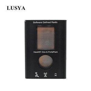 Image 1 - Lusya PortaPack 알루미늄 쉘 HackRF One 1MHz 6GHz SDR 수신기 및 전송 AM FM SSB Ham 라디오 C2 002