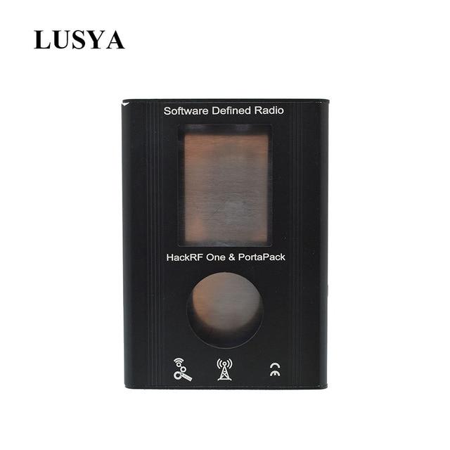 Lusya PortaPack 알루미늄 쉘 HackRF One 1MHz 6GHz SDR 수신기 및 전송 AM FM SSB Ham 라디오 C2 002