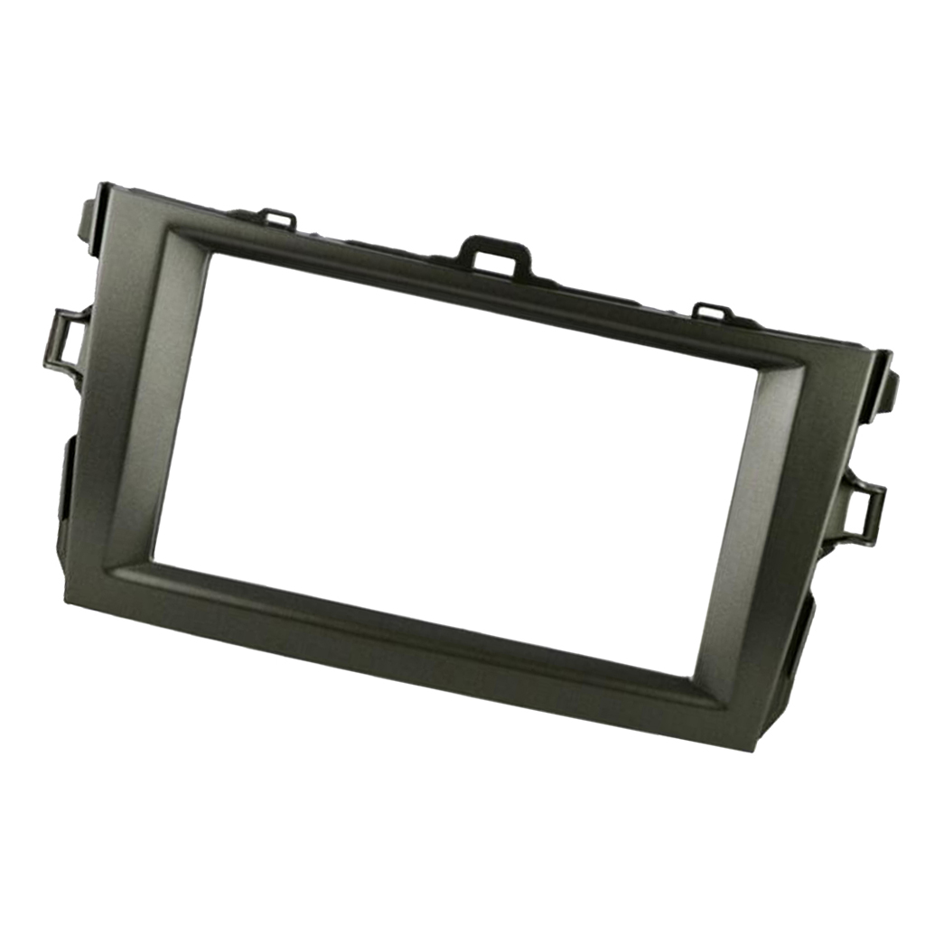 Car Dash Radio Fascia Double Din Panel For Toyota Corolla 2008-2010