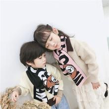 Шарф jo & mi 2020 для мальчиков и девочек картонный шарф размер: