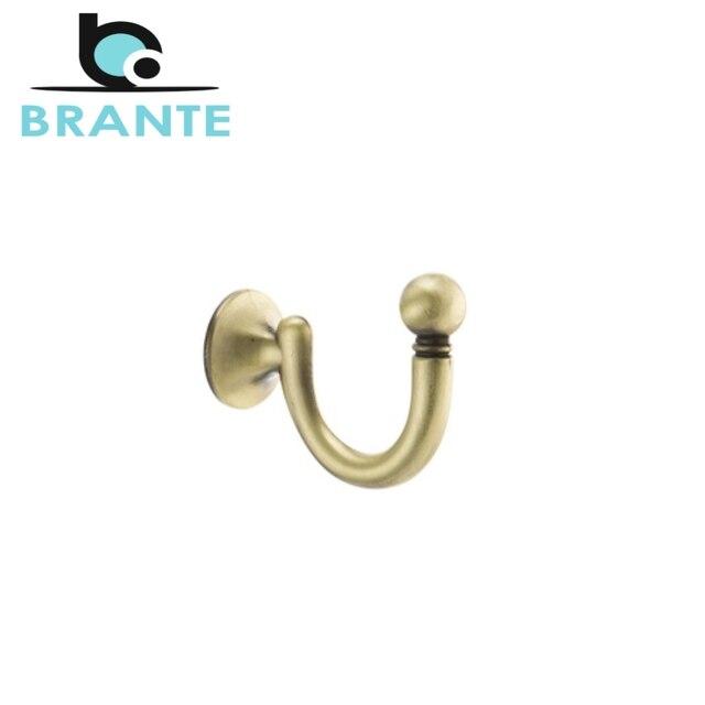 Комплект 2 крючков Brante BR 0150 BA бронза