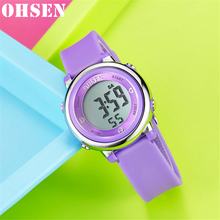 Sports Watches Military-Clock Multi-Function OHSEN Male Waterproof Men's Fashion Relogio
