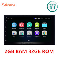 Seicane RAM 2GB+ ROM 32GB Universal 2din Android 8.1 Car Head Unit Player For Honda Toyota Nissan Kia RAV4 Suzuki VW Hyundai