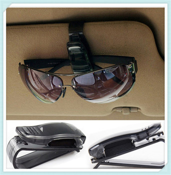 Car Sun Visor Sunglasses Holder Vehicle Accessories for Mercedes Benz C43 C-Class F015 B-Class E53 C63 image