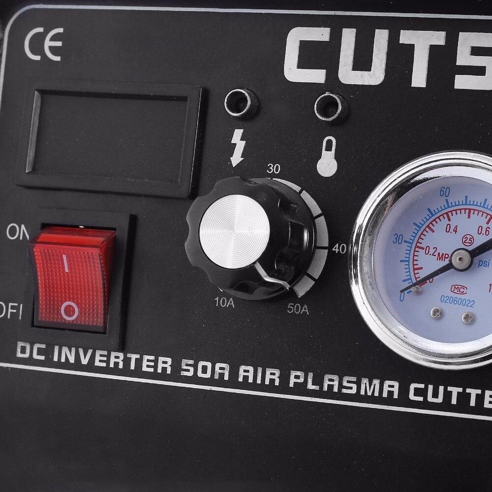 Плазменный резак CUT50 220V 50A плазменный резак машина для плазменной резки с PT31 фонарь для резки аксессуары для сварки