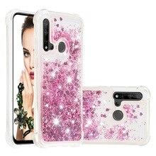 Liquid Quicksand Phone Cases for Huawei P20 Lite Mate 30 Lite Nova 5i Nova 5i Pro Case Glitter Love Heart Stars TPU Bumper Coque
