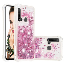 Liquid Quicksand Telefoon Gevallen voor Huawei P20 Lite Mate 30 Lite Nova 5i Nova 5i Pro Case Glitter Liefde Hart sterren TPU Bumper Coque
