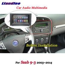 Автомобильная Мультимедийная система Android для Saab 9-3 2003-2014, GPS-навигация, радио плеер, USB, Wi-Fi экран