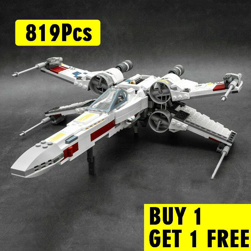 05145 Star movie wars X-Wing Starfighters Compatible with <font><b>Legoinglys</b></font> 75218 Building Toys Blocks Bricks for Kids image