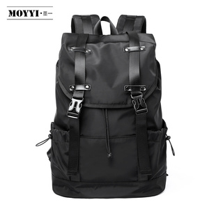 Image 1 - MOYYI  New Fashion Mens Backpack School Bag Mens travel Bags Large Capacity Travel Waterproof 14 15.6 inch Laptop Backpack