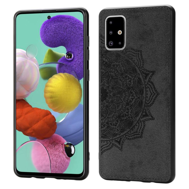Floral Cloth Case For Samsung Galaxy A51 A71 A81 A70 A50 A30 M30S M40S M60S A10S A20S Cases Frabic Back Cover Galaxy S11 E Plus