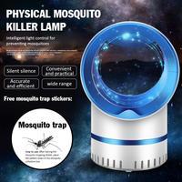 Usb Elektrische Muggen Killer Lamp Stralingsloze Muggen Killer Fotokatalyse Mute Home Led Bug Zapper Anti Mosquito