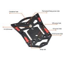 1 шт. портативный кронштейн для камеры Gopro, быстросъемный стабильный плоский Штатив для телефона, аксессуары для камеры SLR, Аксессуары для фотографии