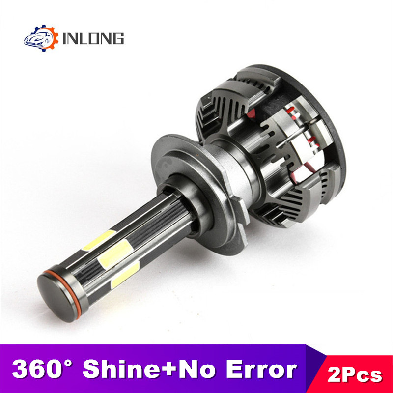 New Arrivals H4 Led Bulbs Canbus No Error H7 H11 Led 6500K 16000LM 9005 Hb3 9006 Hb4 Car Auto Headlights 12V Led Light Fog Lamp
