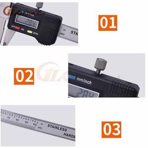 Image 2 - Mini kieszeń suwmiarka cyfrowa ze stali nierdzewnej 50mm 70mm 100mm elektroniczny suwmiarka suwmiarka Gem grubościomierz
