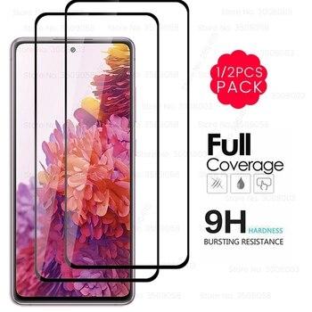 """S20FE gafas 9H Premium protectores de pantalla de vidrio templado para Samsung Galaxy S20 edición S 20 FE SM-G781b 6,5 """"Sklo 1-2 piezas"""