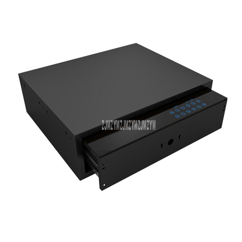 Электронный замок пароль ключ Интеллектуальный сейф ящик домашний бытовой сенсорный экран Противоугонный шкаф ящик Сейф