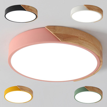 Dimmable Led Ceiling Lights 5cm Ultra Thin Modern Ceiling Lamp Nordic Living Room Lights Bedroom Plafonnier Led 23/30/40/50/60cm цена 2017