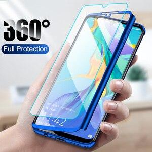 Чехол на 360 градусов для Huawei Y5 Y6 Y7 Pro Y9 Prime 2018 2019 чехол для Honor 5X 6X 7 7C 7X 8 8A 8X 9 9X 10 10i 20 20i