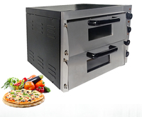 Electric Bakery oven double pizza oven kitchen use stainless steel 3000 W power appliance oven|Ovens| |  -
