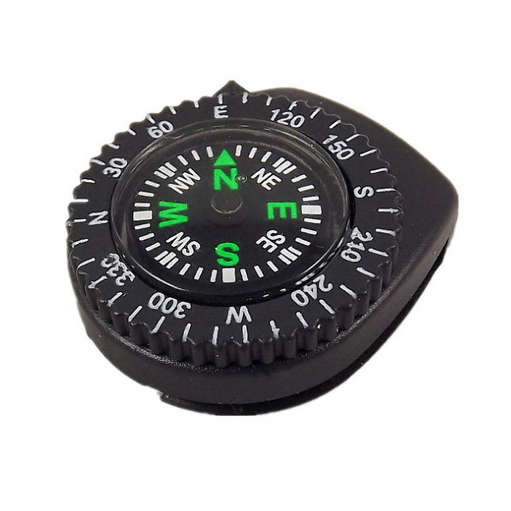 Mini Wristband Compass Portable Detachable Watch Band Slip Hiking Travel Wrist Travel Emergency Survival Navigation Tool