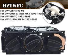 Interruptor de controle de clima para carro, frete grátis, a/c, interruptor de aquecimento para vw jetta golf mk3, vento, euro, 1h0820045d