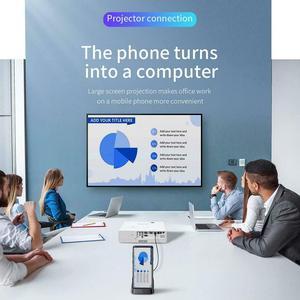 Image 4 - Док станция для телефона Huawei Samsung, док станция с разъемом USB C HDMI, адаптер питания