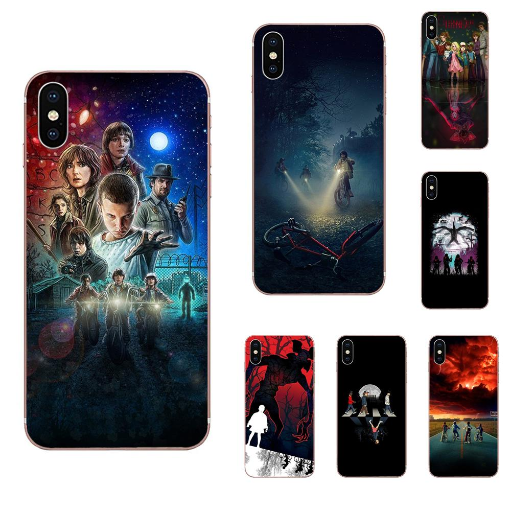 Coque Case Stranger Things Tv Shows Galaxy Plus For Grand A3 A5 A7 A8 A9 TPU On5 On7