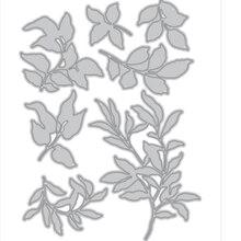 Card-Punch Cutting-Dies Die-Cut Art-Cutter Scrapbooking Metal Just-Leaves Decorative-Stencil