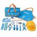 Hi-Spec мой первый набор инструментов настоящие Дети Набор инструментов сумка маленький размер DIY ручной набор игрушечных инструментов подаро...