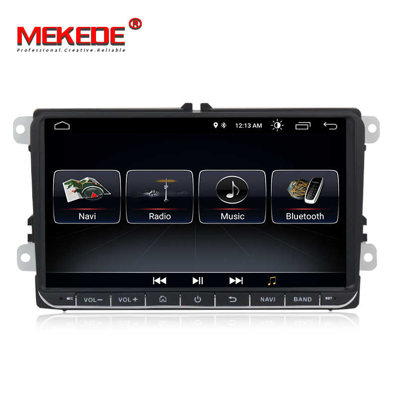 "MEKEDE 9 ""أندرويد 8.1 سيارة لتحديد المواقع والملاحة لشركة فولكس فاجن جولف 5 ، 6 بولو باسات b5 ، جيتا تيجوان توران سكودا ، مقعد ، canbus ، عجلة القيادة"