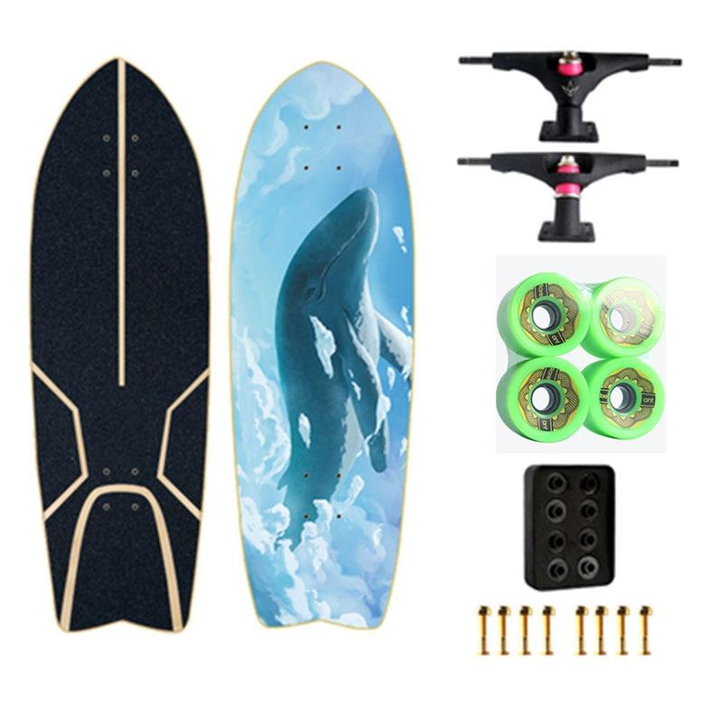 Land Carver 2 génération flambant neuf planche de Surf planche à roulettes direction nid gratuit ski Surf formation - 5