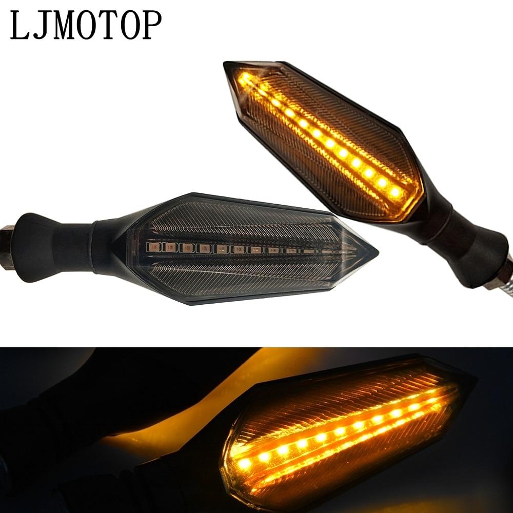 LED Blinker Motorrad Blinker Licht Rückleuchten Indikatoren Für Suzuki VS800 VZ800 DL1000 GSX1100F Katana GSX250 auf title=