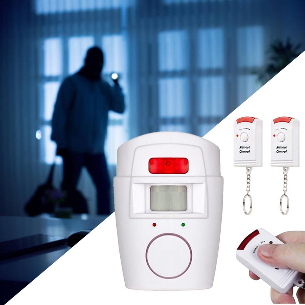 Сигнализация с датчиком движения, дистанционное управление, инфракрасная беспроводная сигнализация для дверей, окон, дома, датчик движения...