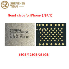 SZteam 64GB128GB 256GB HDD Nand memory chips for iPhone 8 8P X
