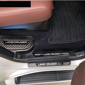Lsrtw2017 coche Umbral de puerta umbral para Toyota Land Cruiser 2008, 2009, 2010, 2011, 2012, 2013, 2014, 2015, 2016, 2017, 2018, 2019, 2020 lc200
