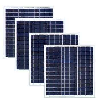 Solar Panel China 40w 12v 4 Pcs Solar Battery Charger Zonnepanelen 160w Portable Caravan Car Camping Boat Yacht  Marine Phone