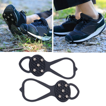 Cleat-Shoes Crampon Climbing-Spikes Ice-Gripper Anti-Slip Outdoor Footwear Traction 5-Teeth