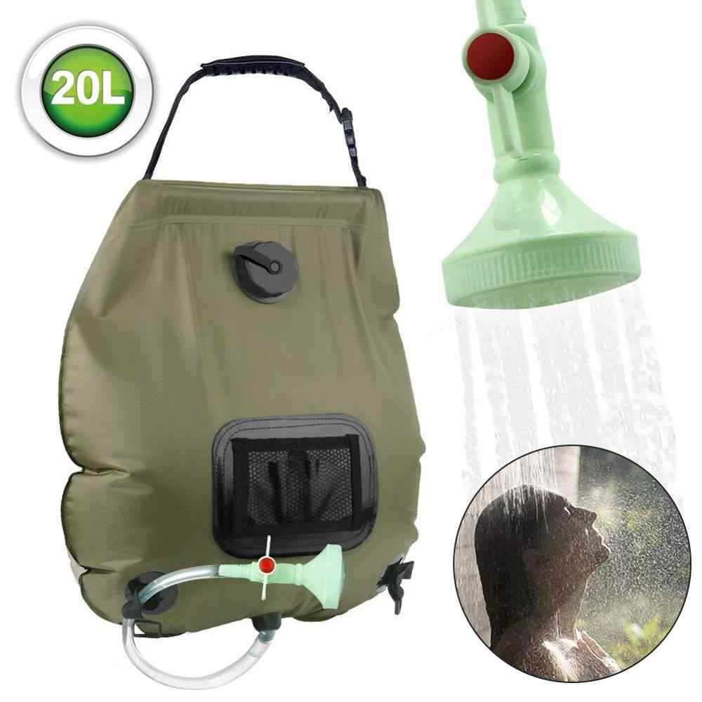 Water Bags For Outdoor Solar Hiking Camping Shower Bag 20L Heating Camping