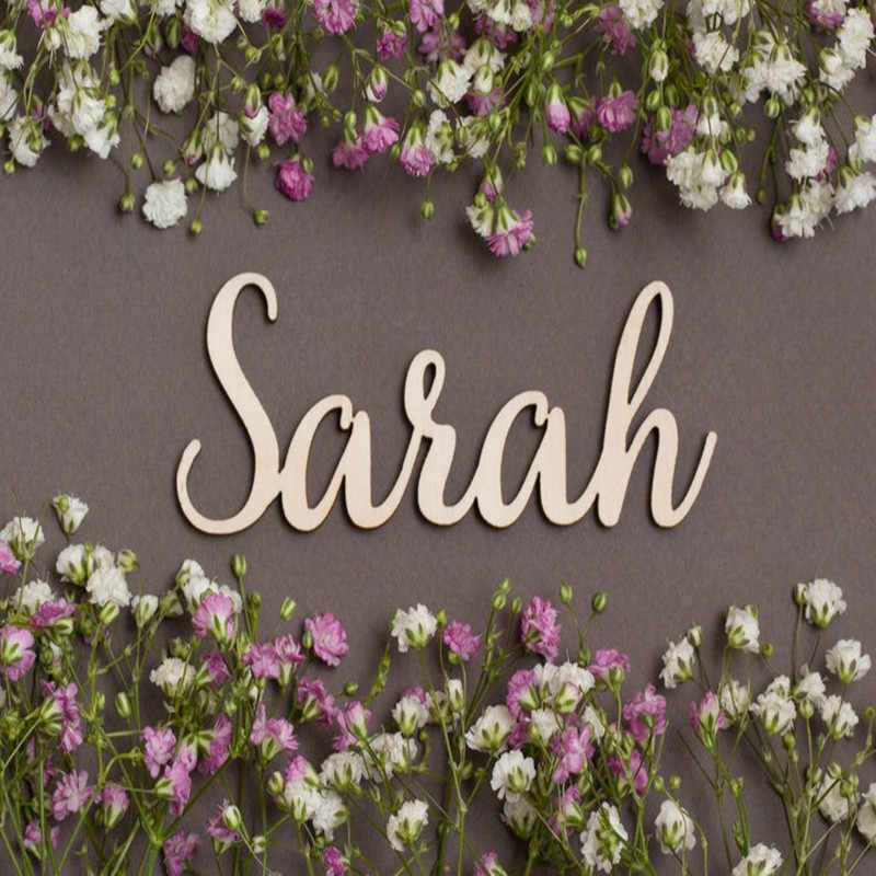 Name Sign Personalized Gold Mirror