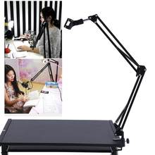 Adjustable Desk Live Radio Recording Microphone Phone Foldable Stand Holder Mic Microphone Stand(China)