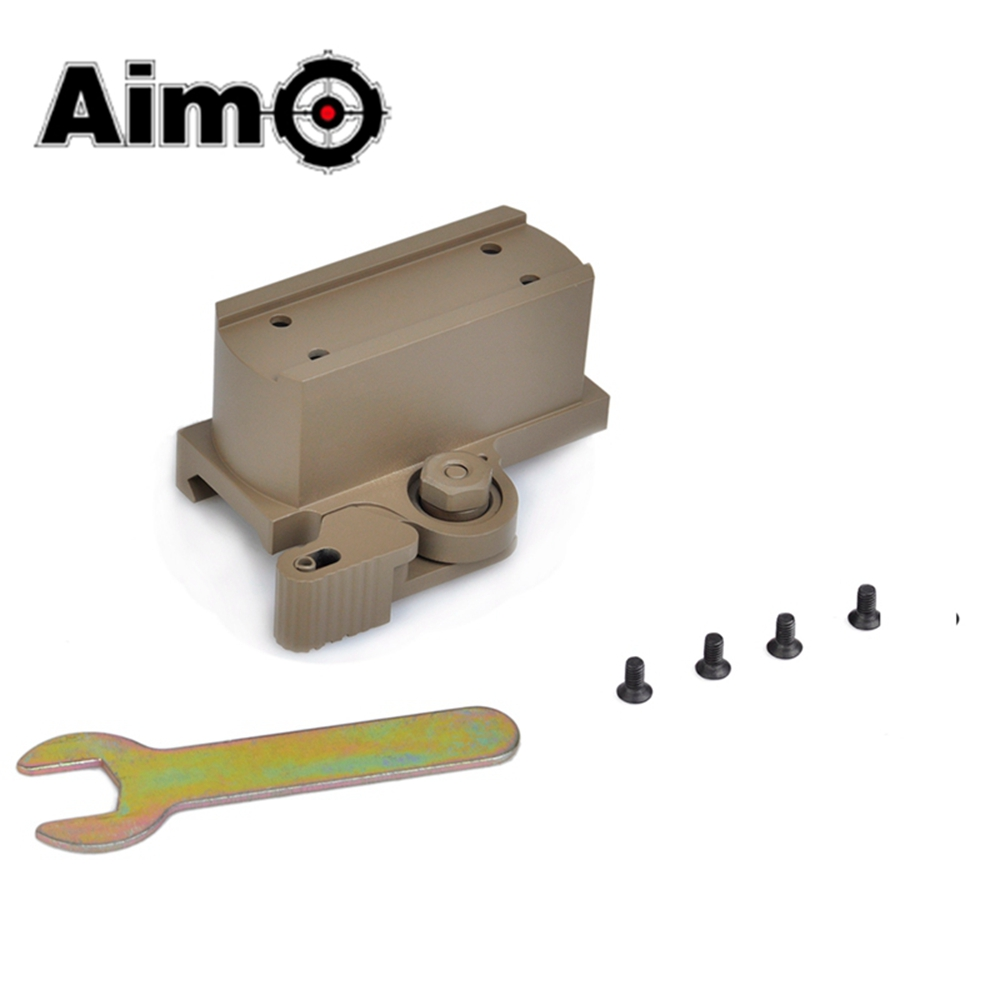 Aim-O Tactical Riflescope Base QD Riser Mount For T1 and T2 Red Dot Sight Scope Softair Telescope Mounts AO1711 Hunting Optics image