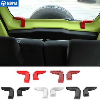 mopai car stickers for suzuki jimny jb74 car side door rear tail door handle decoration cover for suzuki jimny 2019 accessories MOPAI Car Rear Windshield Heating Wire Protective Decoration Cover Stickers for Suzuki Jimny 2019+ Interior Accessories