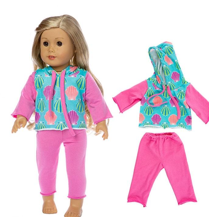 Love Hoodie Fits 18 inch American Girl Dolls