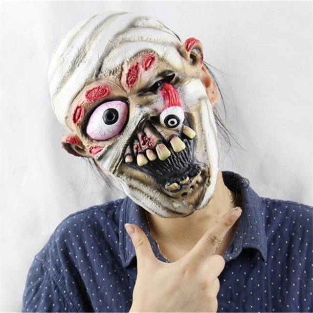 13 Types Masquerade Halloween Horror Mask Adult's Cosplay Realistic Latex Creepy Party Scary Mask Halloween Costume Mascarillas 4