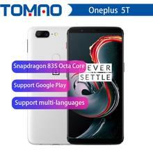 Originele Oneplus 5 T 5 T 8 Gb 128 Gb Snapdragon 835 Octa Core Smartphone 6.01