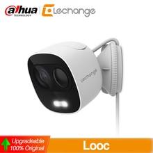 Cámara Dahua Lechagne IPC C26E LOOC 1080P HD Wifi con luz LED vigilancia CCTV inalámbrica en/Exterior resistente a la intemperie PIR detectar